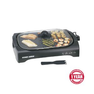 Black & Decker  LGM70  Lifestyle Health Grill With Non-stick coated detachable grill plate