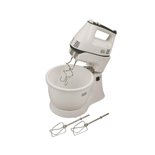 Black & Decker  M700  Bowl & Hand Stand Mixer With Stainless Steel beater and dough hooks