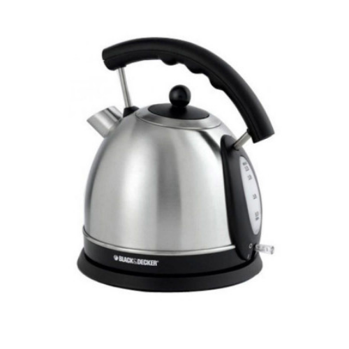 Black &  Decker DK35 - Electric Kettle 1.7 liter - Black & Silver