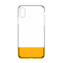 Load image into Gallery viewer, Baseus PC + TPU Hybrid Case for iPhone X/XS Fashion Transparent Silicone Case