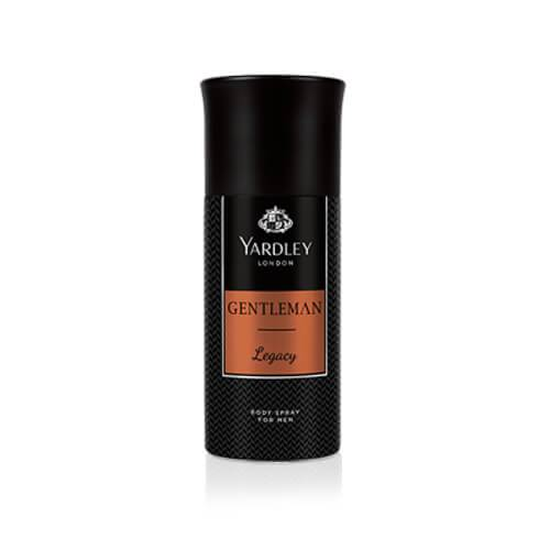 Yardley Gentleman Legacy Deodorant Body Spray, 150ml