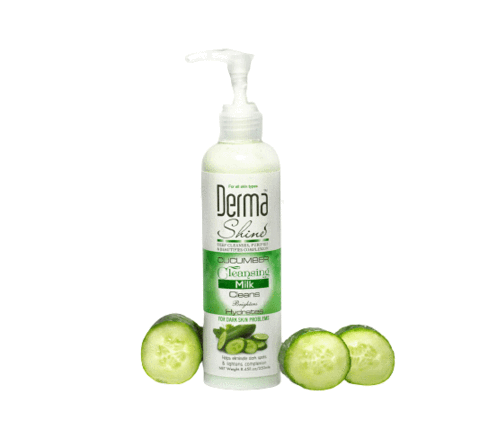 DERMA SHINE CUCUMBER CLEANSING MILK