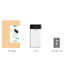 Load image into Gallery viewer, ROMOSS LT20  20000mAh Power Bank Dual USB