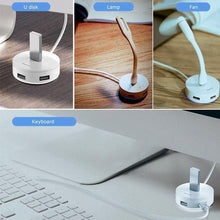 Load image into Gallery viewer, Baseus Round Box Type-C HUB Adapter With 3 USB 3.0 Ports USB 2.0