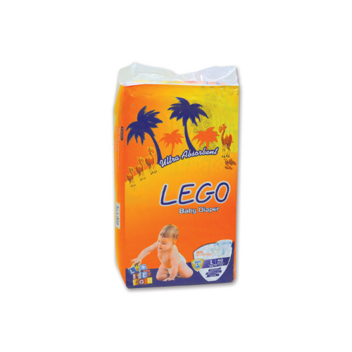 LEGO ECONOMY PACK LARGE DIAPERS (40 PCS)