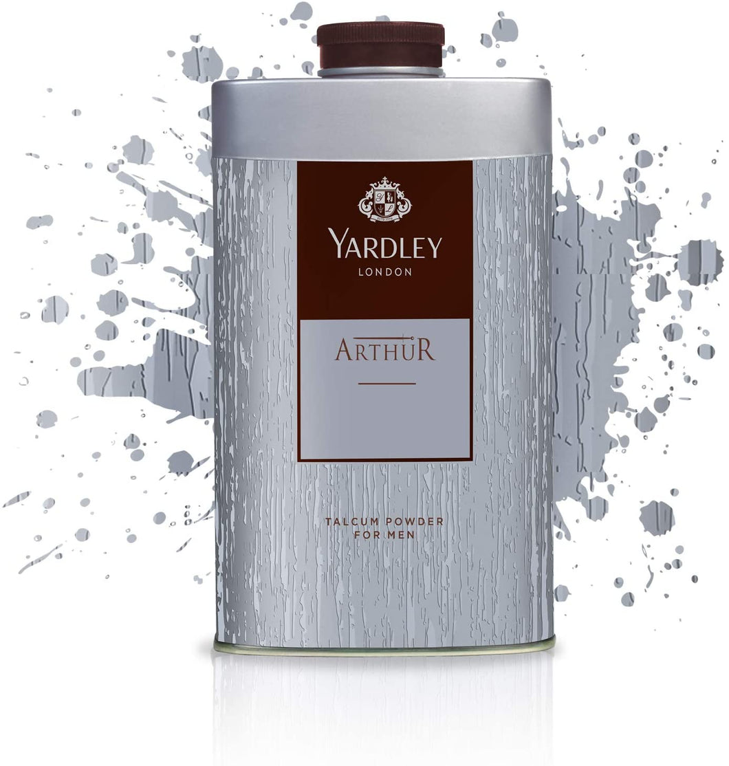 Yardley London Arthur Talcum Powder For Men 250 gm