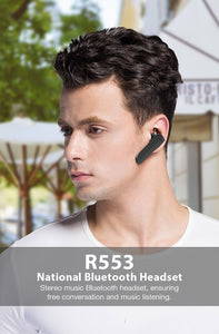Roman R553 Business Call Bluetooth Headset For Calls and Music