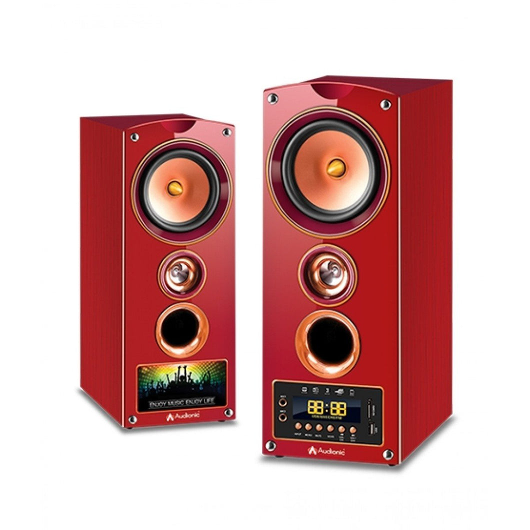Audionic COOPER 5 (Burgundy Colour)
