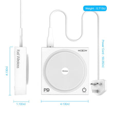 Load image into Gallery viewer, MOXOM KH-62 Fast Wireless Charging USB Hub 10W QC3.0 PD Supported