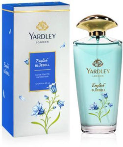 Yardley London English Blue Bell EDT Perfume for Women 125ml, 100% Original