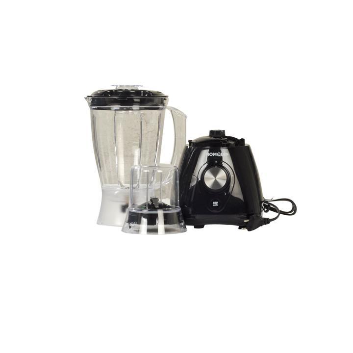 HOMQUIP Blender with Grinder, 2 in 1, 1.5L, 500W