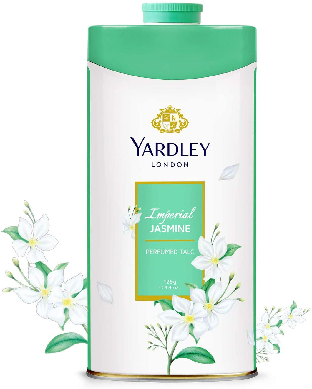 Yardley Imperial Jasmine Talcum Powder – 125G