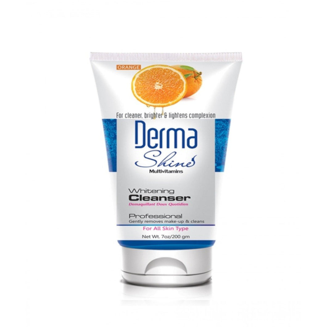 Derma Shine Orange Whitening Cleanser 200gm