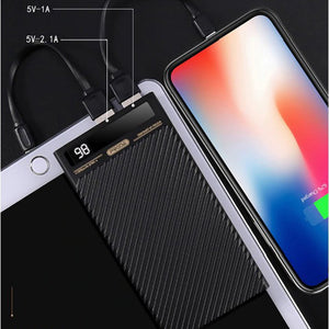 Remax Proda Pd-P11 Dual Usb 10,000mah Mini Power Bank Digital Display