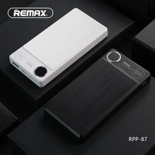 Load image into Gallery viewer, Remax Mobile Phones Power Bank KOOKER Power Bank Portable Large Capacity 10000mAh Aluminum Shell Power Bank Charging Quick
