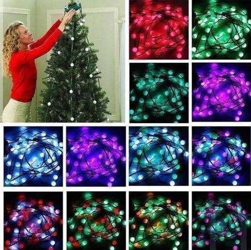 64 Led Christmas Tree Lights
