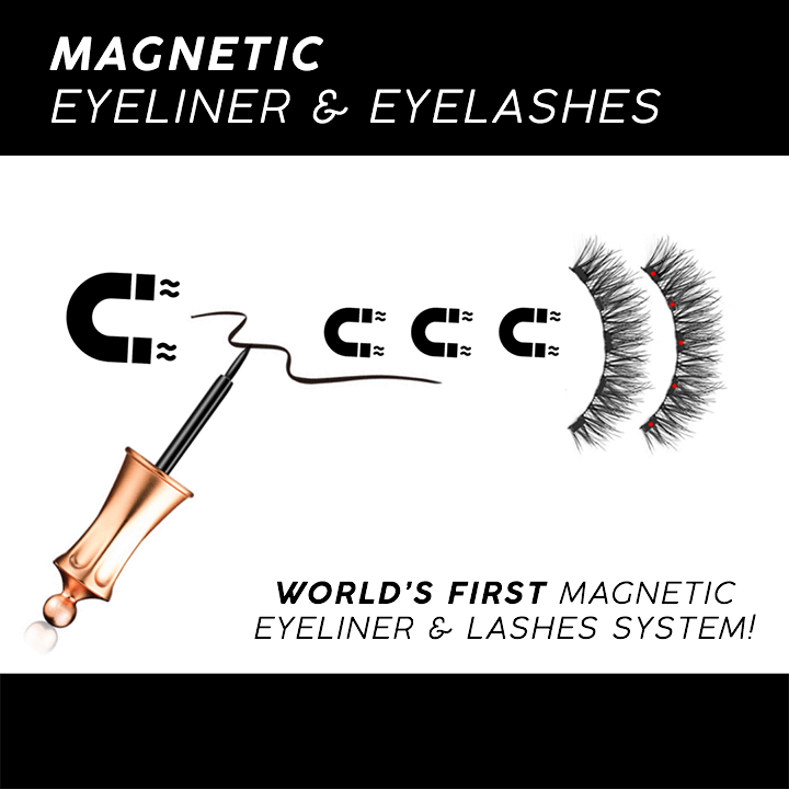 Magnetic 4D Eyelash Liner