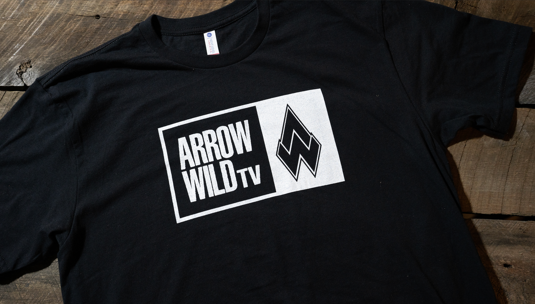 NEW Arrow Wild TV logo T