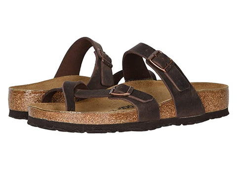 Birkenstock Mayari Leather Toe Loop Sandal