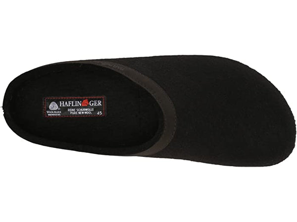 Haflinger Grizzly Wool Clog