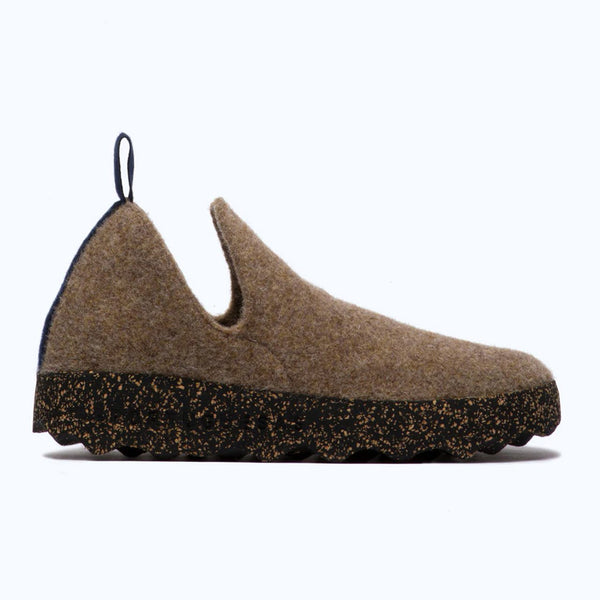 AsPortuguesas City Wool Slip On