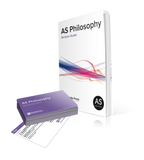 AS Philosophy Revision Guide and Revision Buddy for OCR from PushMe Press