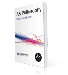AS Philosophy Revision Guide for AQA (Unit C) from PushMe Press