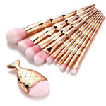 Diamond Rose Gold Makeup Brushes™ - Beauty Products