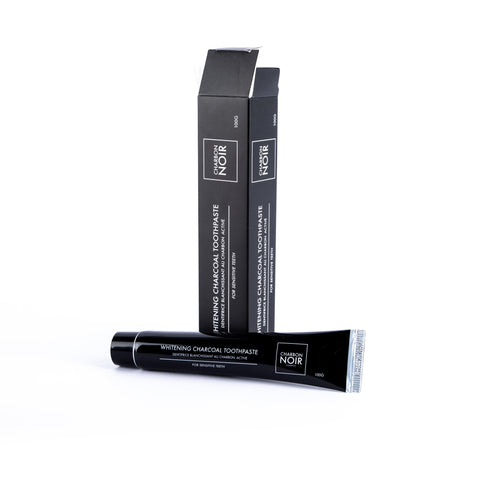 Charbon Noir whitening charcoal toothpaste