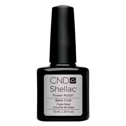 Shellac base coat