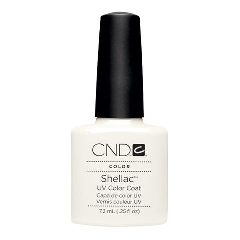 Shellac Studio White vernis couleur
