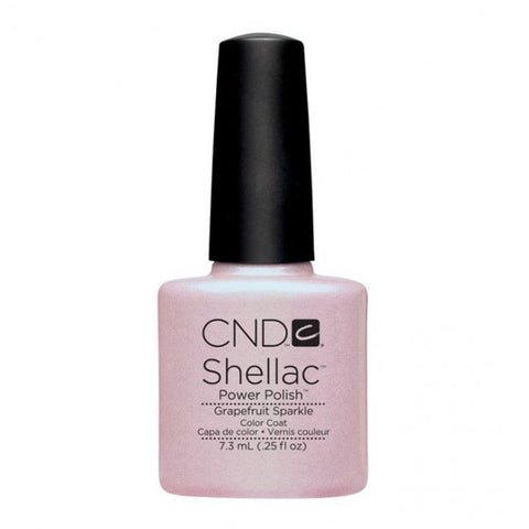 Shellac Grapefruit Sparkle vernis couleur