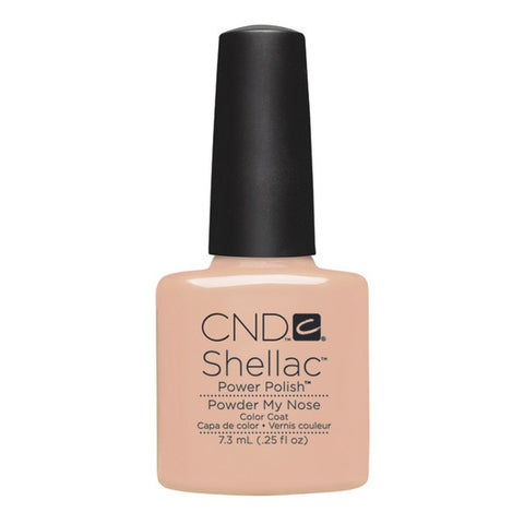 Shellac Powder My Nose color coat