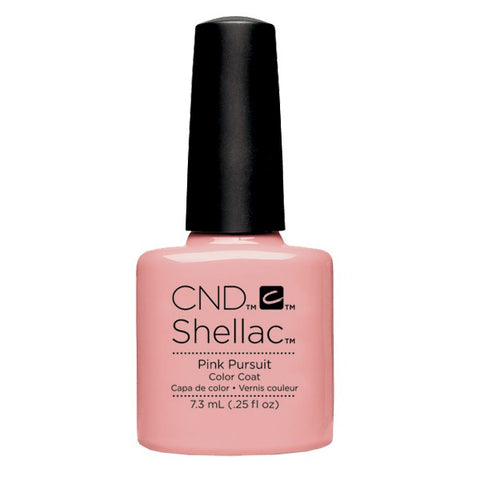 Shellac Pink Pursuit color coat