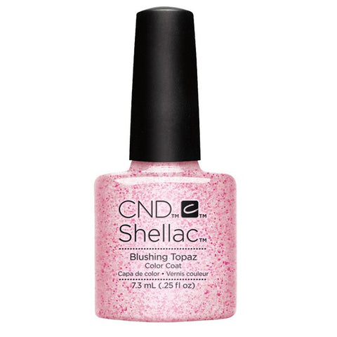 Shellac Blushing Topaz color coat