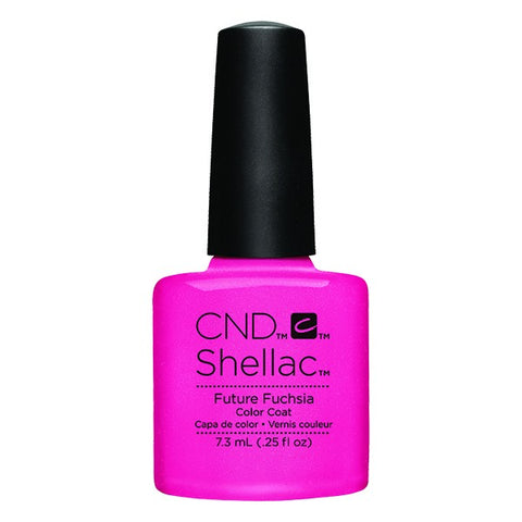 Shellac Future Fuchsia vernis couleur