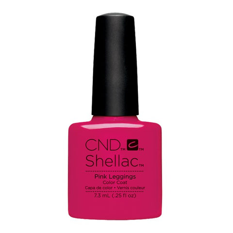 Shellac Pink Leggings color coat