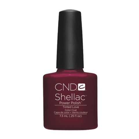 Shellac Tinted Love color coat
