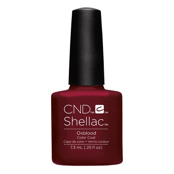 Shellac Oxblood vernis couleur