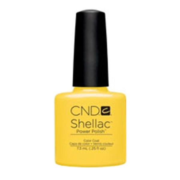 Shellac Bicycle Yellow vernis couleur