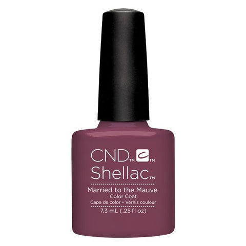 Shellac Married To The Mauve vernis couleur