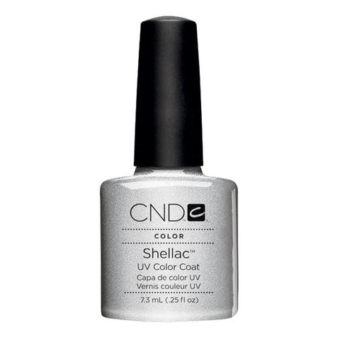 Shellac Silver Chrome vernis couleur