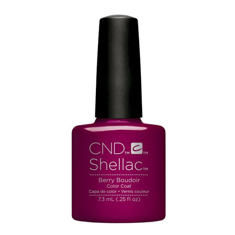 Shellac Berry Boudoir color coat