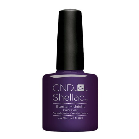 Shellac Eternal Midnight color coat
