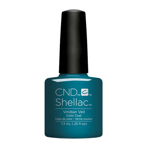 Shellac Viridian Veil color coat
