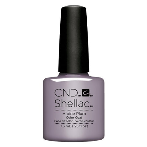 Shellac Alpine Plum vernis couleur
