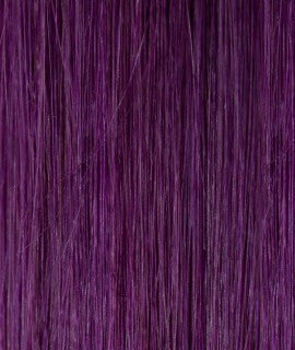 Kathleen keratin hair extensions 20-22 inches color : NEW PURPLE