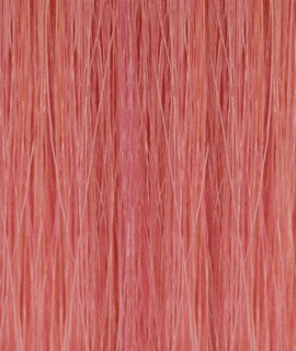 Kathleen keratin hair extensions 20-22 inches color : PINK