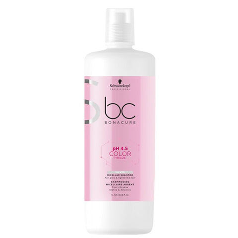 Schwarzkopf Bonacure Color Freeze shampooing Silver