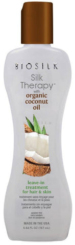 Biosilk Silk Therapy Organic coconut oil